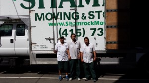 Moving Crew from Shamrock Movers