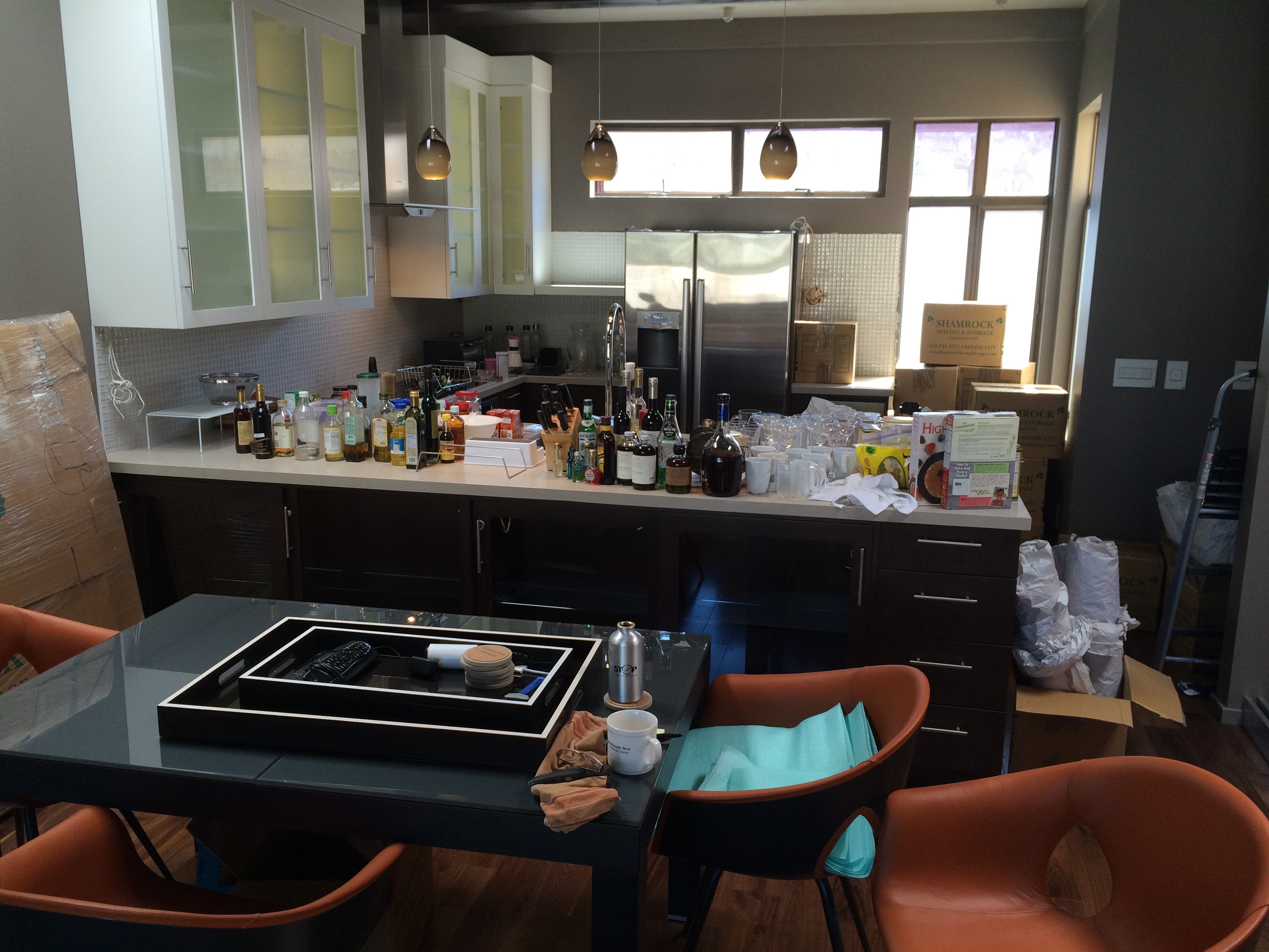 Before-Kitchen Remodel Unpack