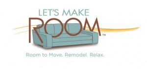 LET'S MAKE ROOM Logo