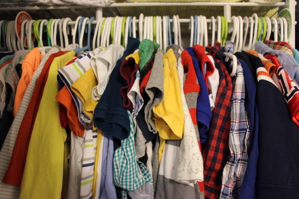 Over-stuffed closet